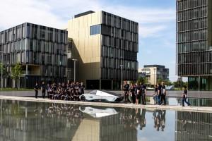 Sunriser, Test in Essen, Elektromobilität