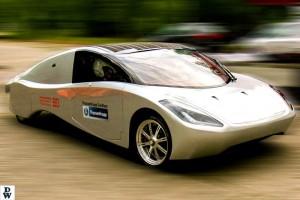 Auktora, Elektromotor, Solarauto